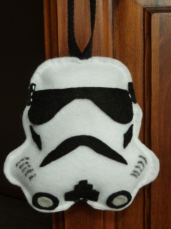 I never realized how much Stormtroopers look like teeth. Perfect selection for a Tooth Fairy pillow! #starwars #toothfairy