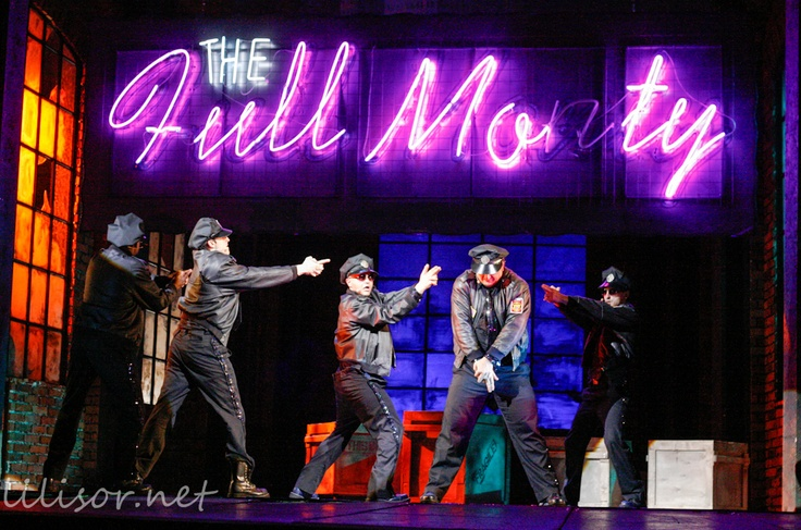 The Full Monty play in Timisoara