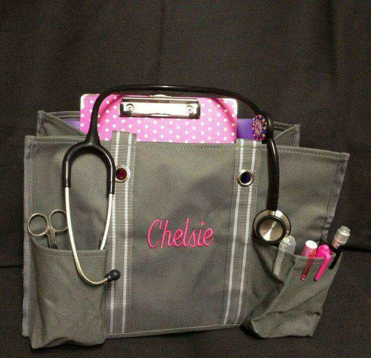 A durable utility tote too keep you ready for clinicals. A must for all nursing students.