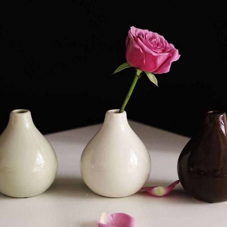 Ceramica Vento Piccolo Tavolo Minimalista Arredamento Ikea Decorativo Fiore Vaso Spina Mini Idroponica All'ingrosso Da