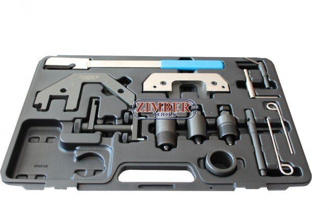 К-т за зацепване на дизелови двигатели BMW M41, M51, M47 - M47 TU/T2,  M57 TU/T2 2.0l/3.0l, ZR-36ETTSB04 - ZIMBER-TOOLS.