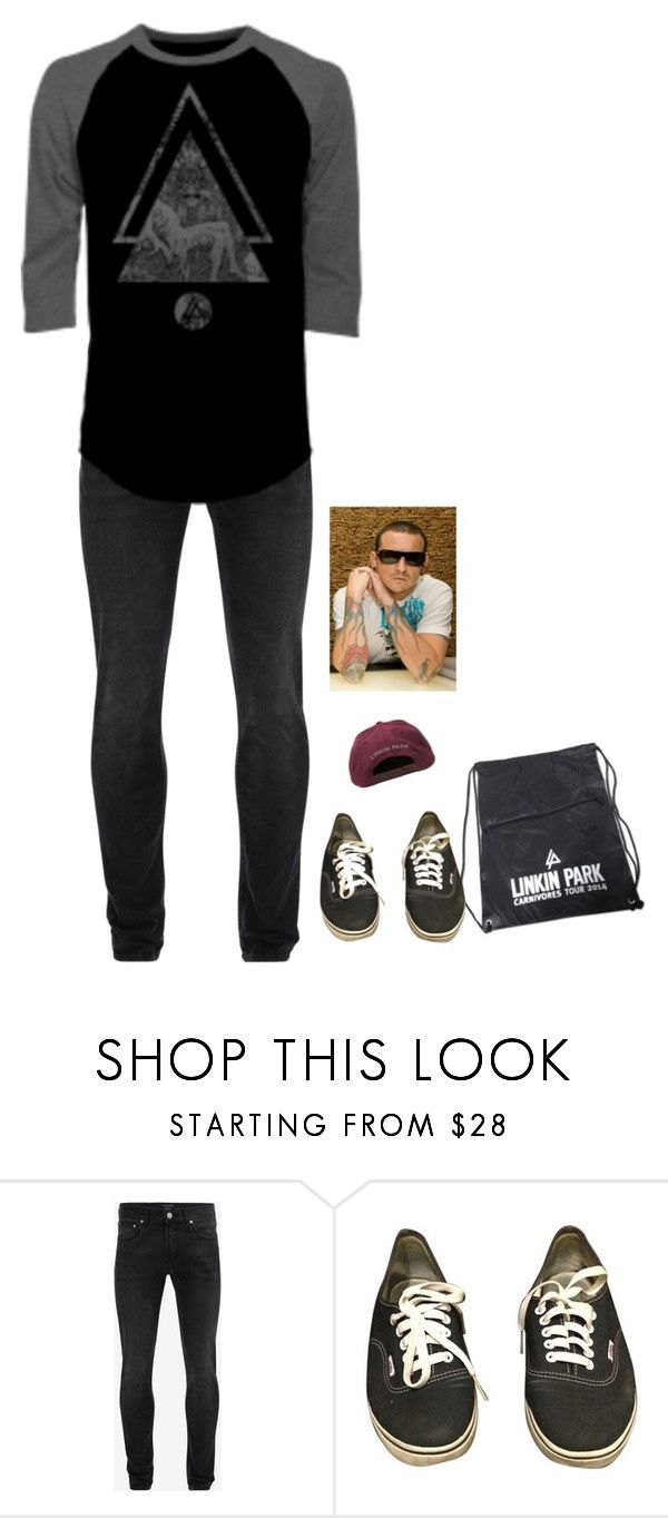 """RIP Chester Bennington"" by xxghostlygracexx ❤ liked on Polyvore featuring Alexander McQueen and Vans"