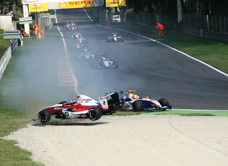 Race on track, Monza Italy