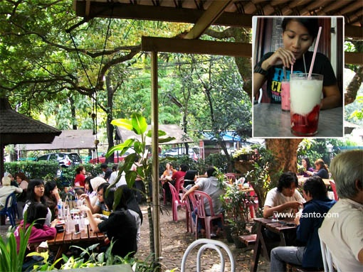 cisangkuy... famous for its many flavoured yogurt drinks...