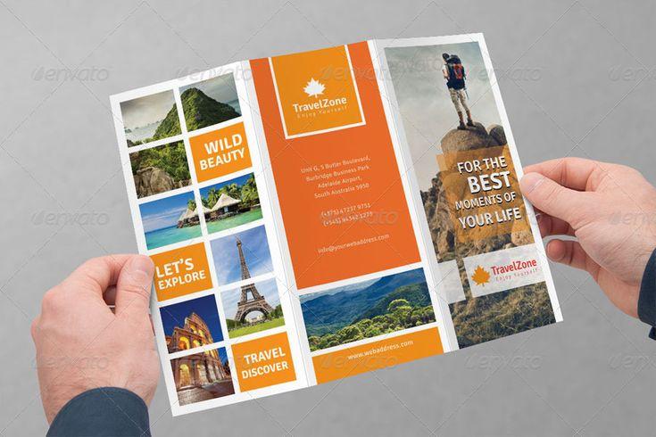 travel brochure design | World Tri-fold Best Travel Brochures