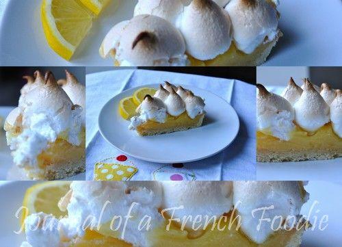 Tarte meringuée au citron (Lemon meringue tart)
