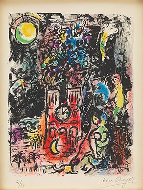 'L`Arbre de Jessé' (The Tree of Jesse) by Marc  Chagall, 1960