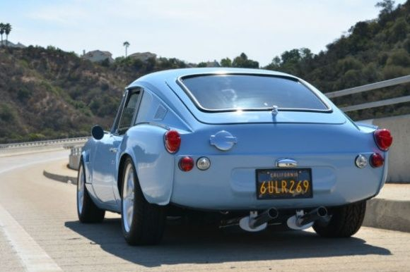 It's an old Bring A Trailer ad, but this '69 Triumph GT6+ looks amazing with no bumpers, and perfect stance.