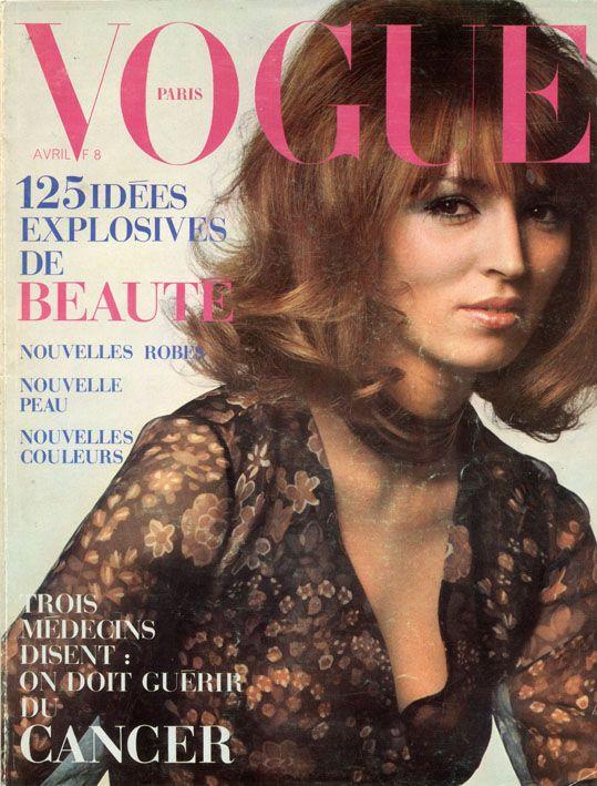 Talitha Getty, photo by Jeanloup Sieff, Vogue Paris, April 1970*