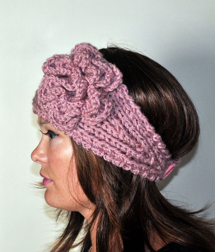Free Crochet Ear Warmer Patterns For Adults : images of free crocheted ear warmer patterns Crochet ...