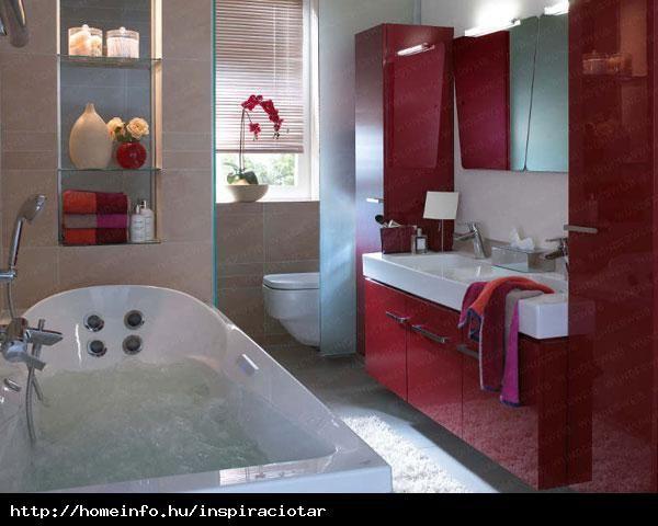 Színes fürdőszobaszekrény