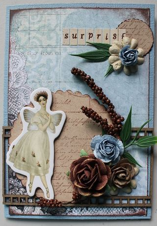 Nienna - kit Fairy Belle de Prima - Art du scrapbooking