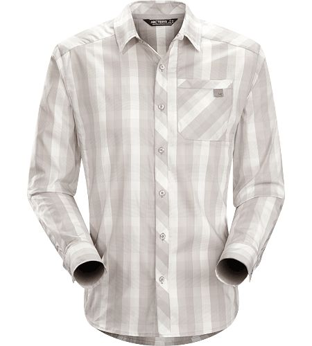 Men's Peakline LS Shirt - Pewter