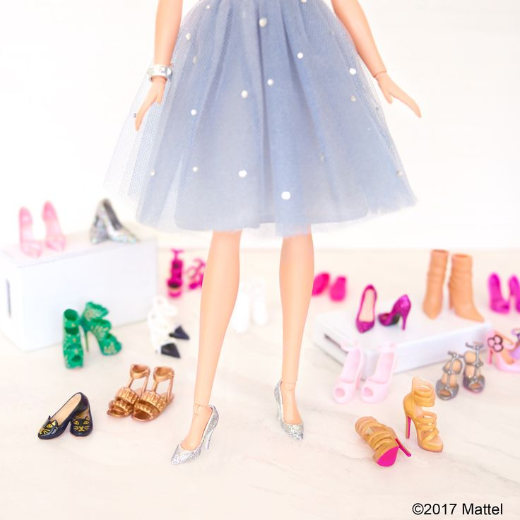 Post Date: Sunday, April 23, 2017  Eeny, meeny, miny, moe…which should stay and which should go? 👠 #barbie #barbiestyle  GEO: Malibu