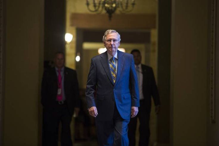 McConnell's a worthless POS Rino!  Senate Republican leader Mitch McConnell was less than agreeable with......