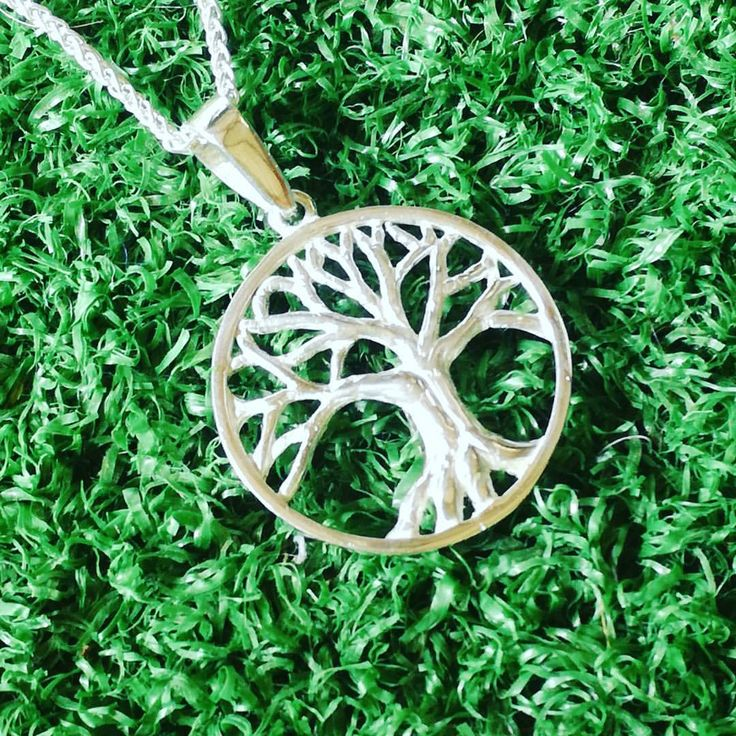 Sterling Silver Tree of Life Pendant: R350.00