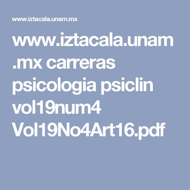 www.iztacala.unam.mx carreras psicologia psiclin vol19num4 Vol19No4Art16.pdf