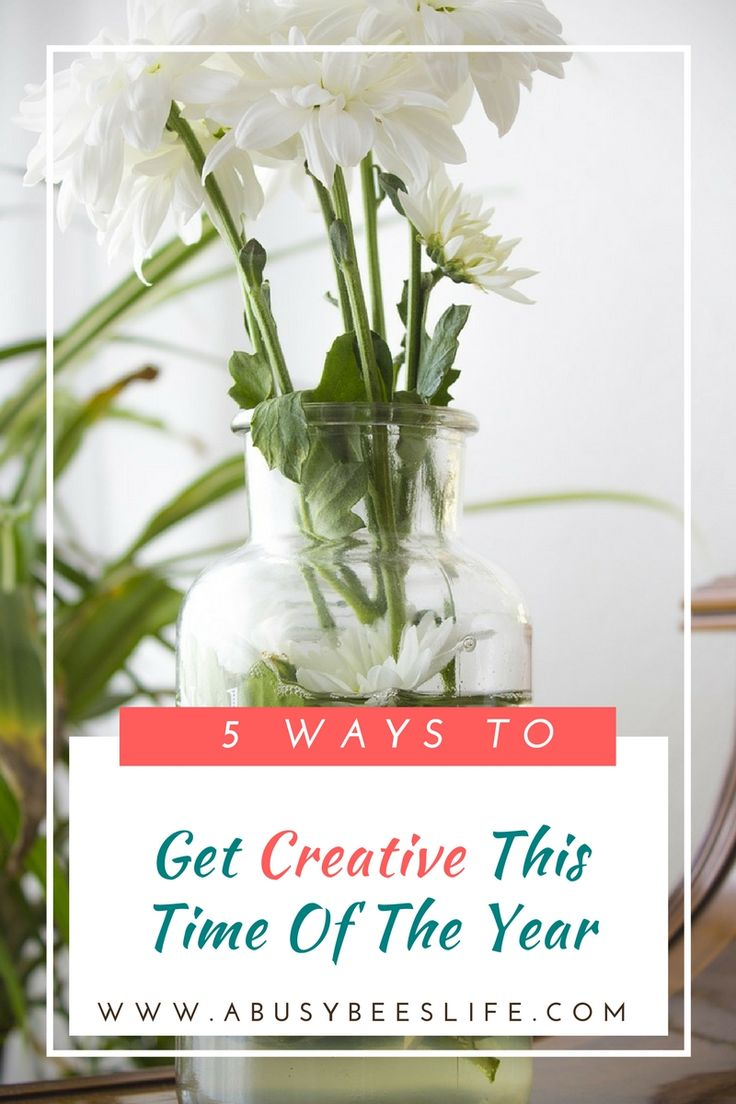 It is easy to get creative this time of the year. This season calls for a plethora of decorations. Here are 5 great ways to do get creative! via @abusybeeslife