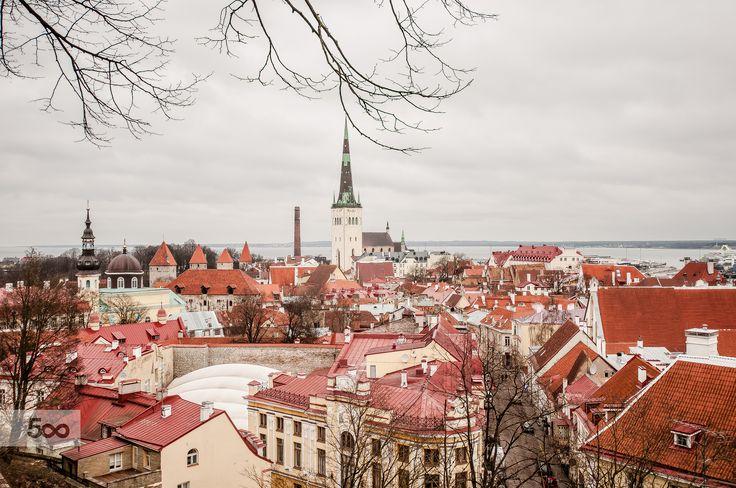 Tallinn by Graziella Serra Art & Photo on 500px