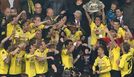 Deutscher Meister 2012: Bor Dortmund