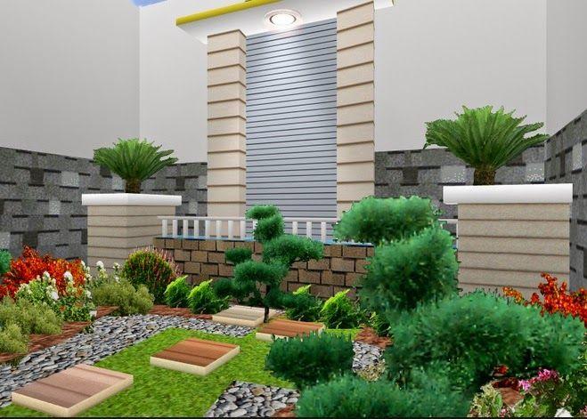 ilustrasi-foto-taman-rumah-indah-hijau