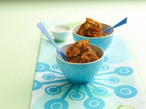 hungry girl's h-o-t hot boneless wings, coated with bbq popchips.: Popchips Recipes, Bbq Popchip