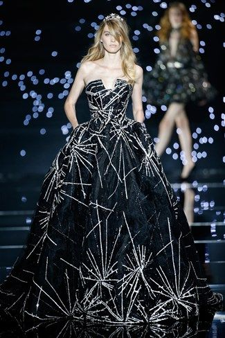 Zuhair Murad | Couture Fall 2015-16 etsy.com/shop/SowingAcorns our silk scarves are a wonderful way to wear art; they also make great accessories to every outfit. Buy one, today; add to your women's fashion closet