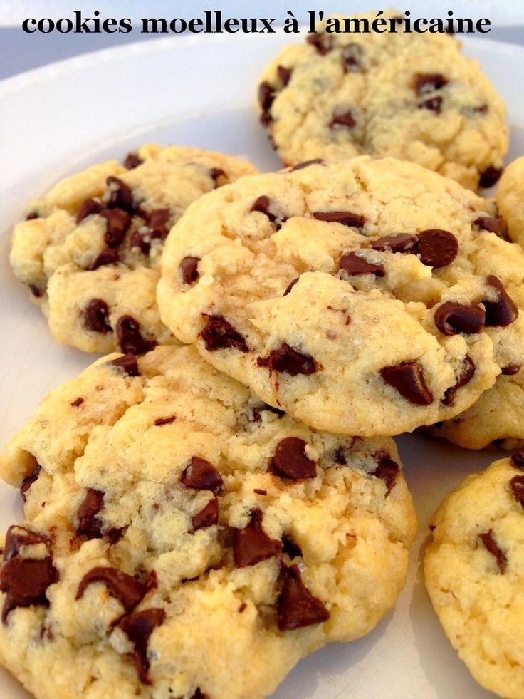Encore une recette de cookies, j'en ai tellement testé que je ne sais même pas si je l'ai déjà faite ! Tant pis si c'est le cas, je ne résiste jamais quand j'en vois passer sur les blogs. Ingrédients pour une vingtaine de cookies : 265 g de farine 1/2...