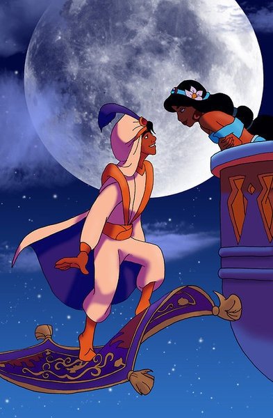 Day Seven: Favorite Prince- Aladdin isn't a true prince really until like the end and then I assume he goes in to sultan-hood pretty quickly, but still my favorite.