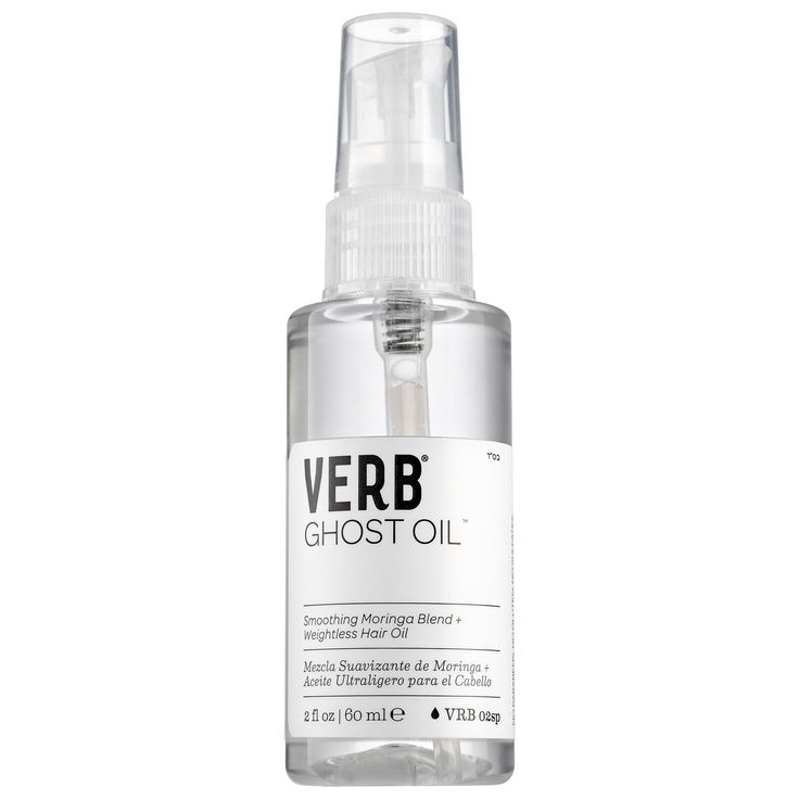 Shop Verb's Ghost Oil™ at Sephora. A transparent hair oil with a daily restorative that revitalizes Best Hair Serum, Best Hair Oil, Frizz Free Hair, My Beauty Routine, Skincare Routine, Skin Routine, Moringa Oil, Glossy Hair, Pyrus