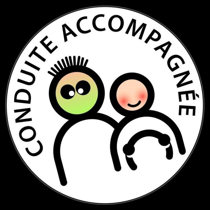 Logo de la Conduite accompagnée revue et corrigée (légèrement). #conduiteaccompagnee #permisdeconduire #autoecole #centredeformation #apprentissage #tuteur #consuite
