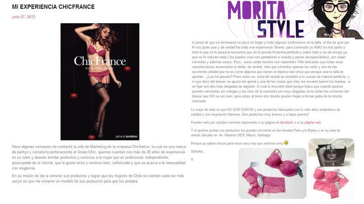 Morita Style. 2  http://moritastylish.wordpress.com/