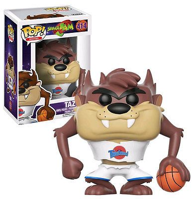 FUNKO POP! Looney Tunes Taz (Space Jam) #414 New Mint #FunkoPop #Collectibles