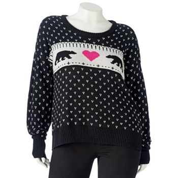 SO Cable-Knit Sweater - Juniors Plus