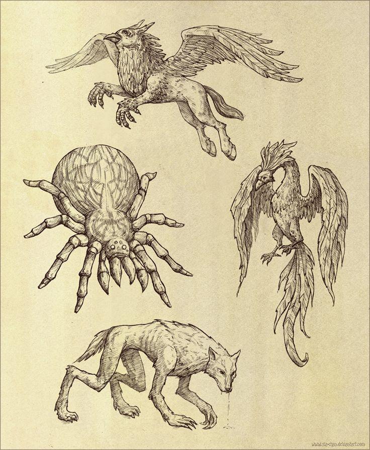 218 best HPClassMagical Creatures images on Pinterest