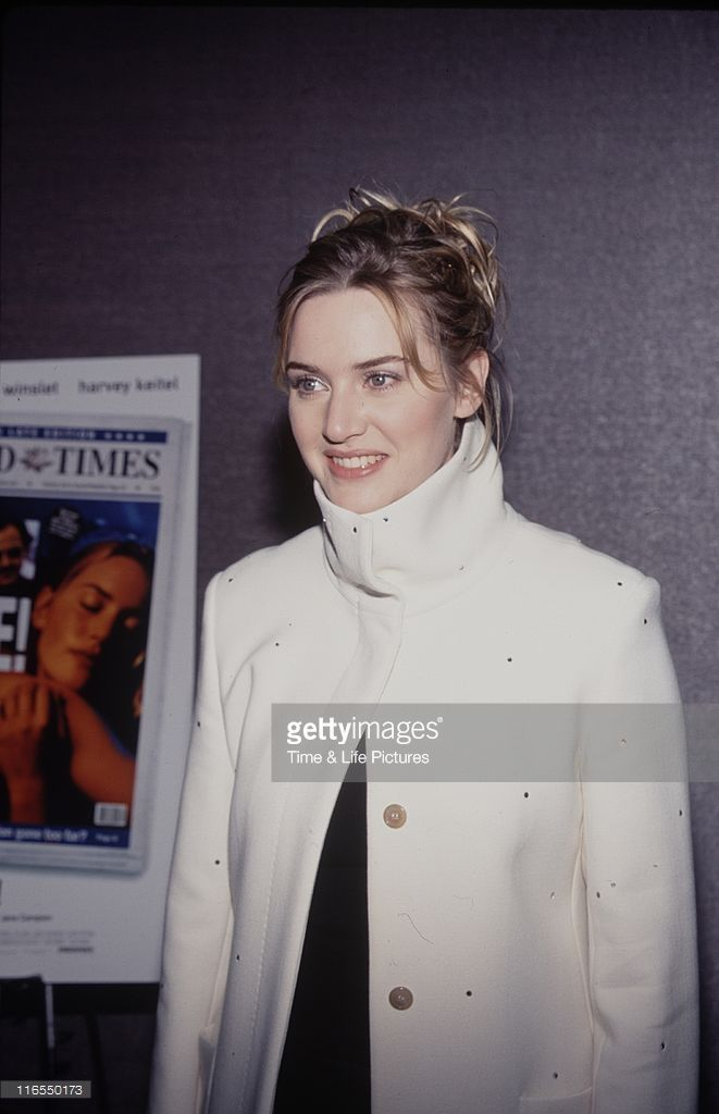 Actress Kate Winslet at a screening of her film 'Holy Smoke'.