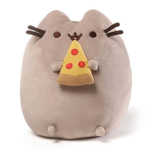 Pusheen the Cat Pizza Snackable 9 1/2-Inch Plush - Gund - Pusheen - Plush at Entertainment Earth