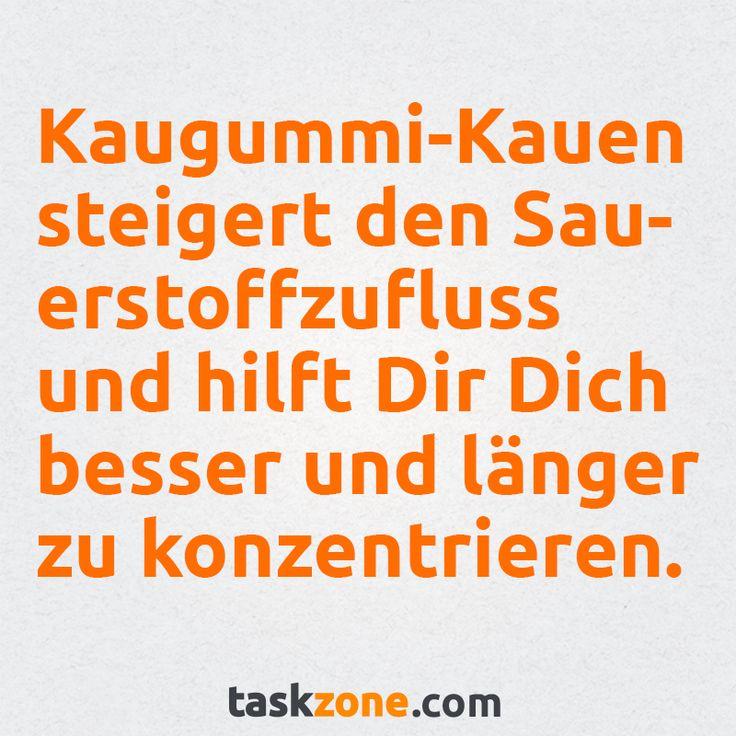 Kaugummi-Kauen-Fact