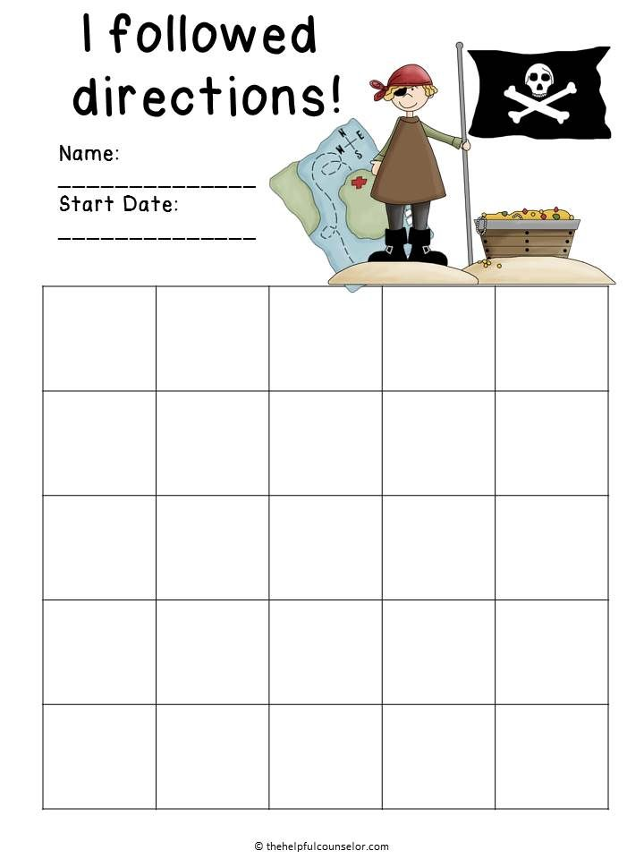 Best Behavior Charts Images On   Behavior Charts