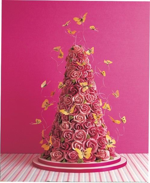 Butterfly wire cake