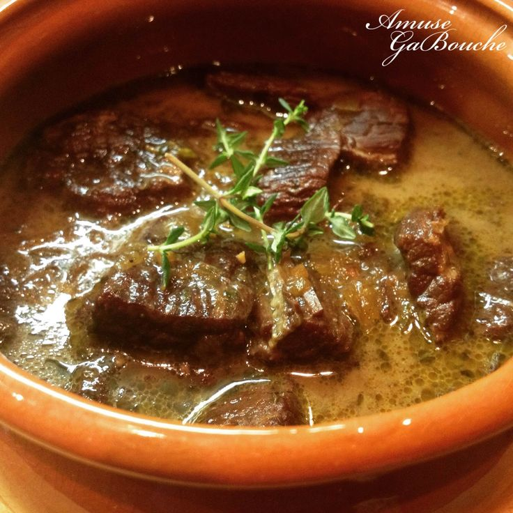 Beef Eye Fillet stew with Thyme