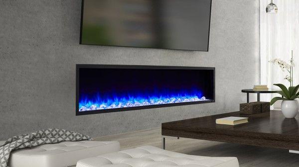 Majestic Simplifire Sf Sc78 Bk 78 Scion Linear Electric Fireplace