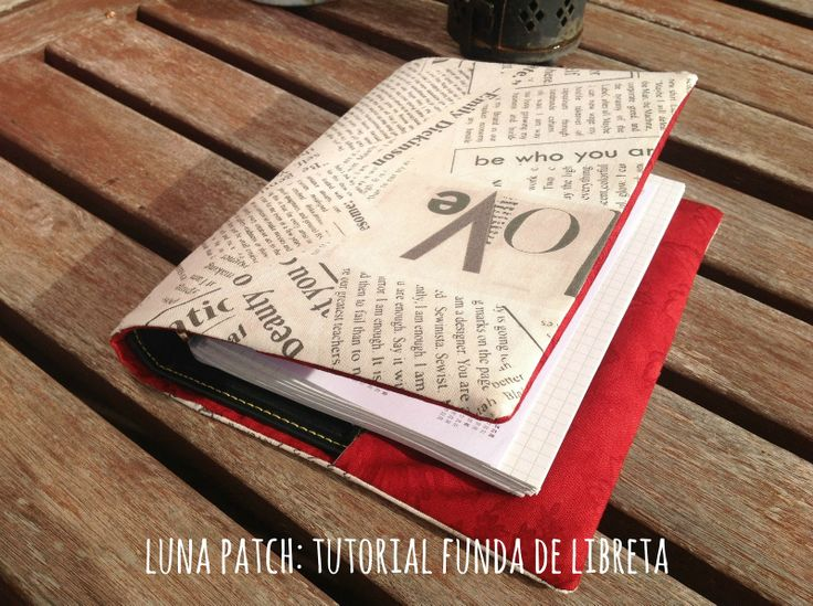 Luna Patch: Tutorial funda de libreta