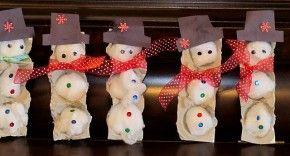 Sneeuwpop eierdozen