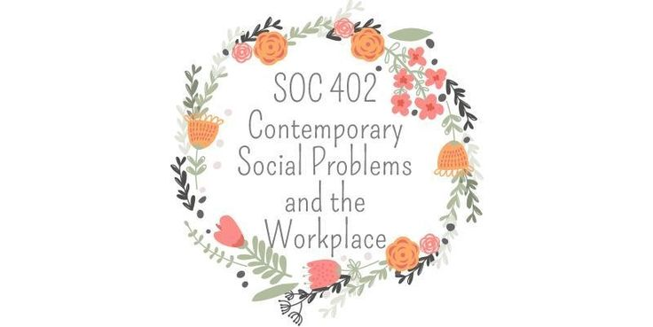 SOC 402 Contemporary Social Problems and the Workplace====================================================SOC 402 Week 1 DQ 1, Three sociological PerspectiveSOC 402 Week 1 DQ 2, Qualitative Vs QuantitativeSOC 402 Week 1 Quiz (Two Sets)-----------------------------------------------------------------