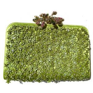 Valentino Garavani Glam Flower Frame Minaudière Clutch