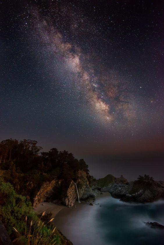 обработка фото ночного неба величество грандифлора наиболее