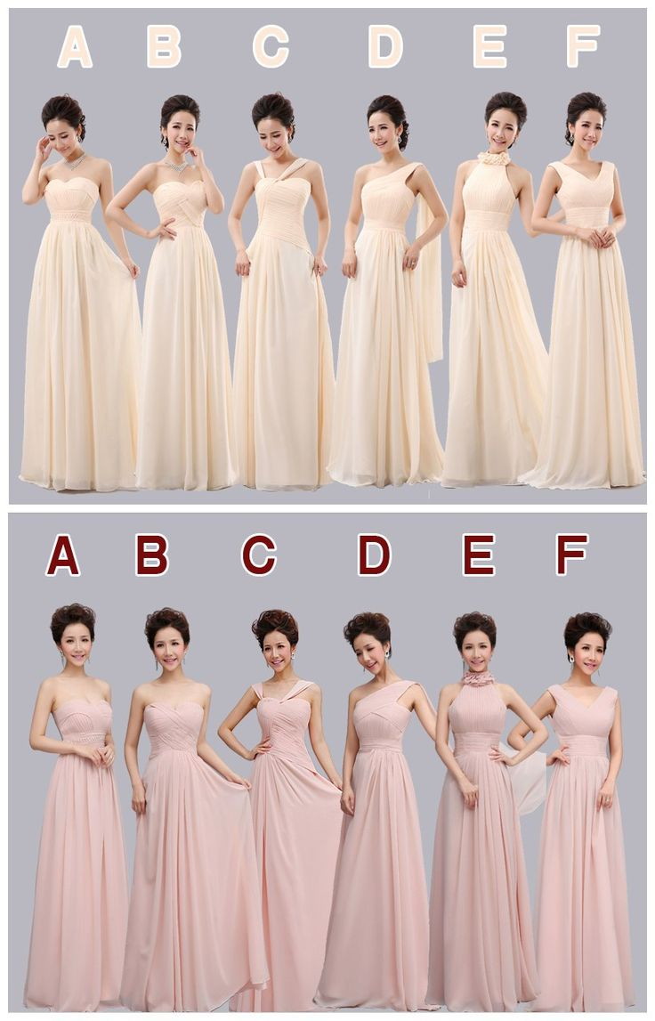 Best 25 bridesmaid dresses under 50 ideas on pinterest 2015 new sexy elegant fashion 6 styles long chiffon bridesmaid dress under 50 pink ombrellifo Images