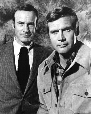 Oscar Goldman and Steve Austin - The Six Million Dollar Man - We can rebuild him....we have the technology