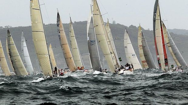 Rolex Sydney to Hobart Yacht race in Australia